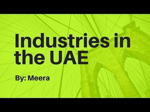 Industries in the UAE