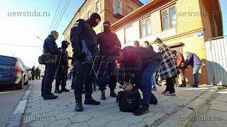 На Центральном рынке Тулы задержали около 300 иностранцев