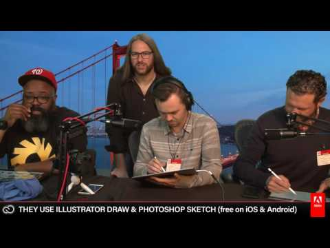 Rob Generette III - Proko - Matt Fussell - Live Drawing on Twitch 2/3 | Adobe Creative Cloud