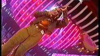 Piero Pelù live @ Sanremo 2001 - 02 marzo 2001 (1a volta online!)