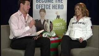 Footy Tips TV NRL Round 24 2007 Lana Taylor Jimmy Smith Prev