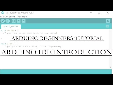 Arduino IDE programming tutorial Part 1| Arduino IDE Introduction | How to use Arduino IDE thumbnail