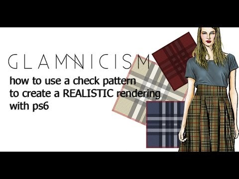 HOW TO USE A CHECK PATTERN TO CREATE A REALISTIC RENDERING (part_2)