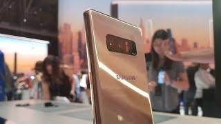 Samsung Galaxy Note 8 - pierwsze wrażenia - Mobzilla Flesz odc. 1