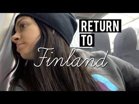 Returning to Finland - Rovaniemi, Finland