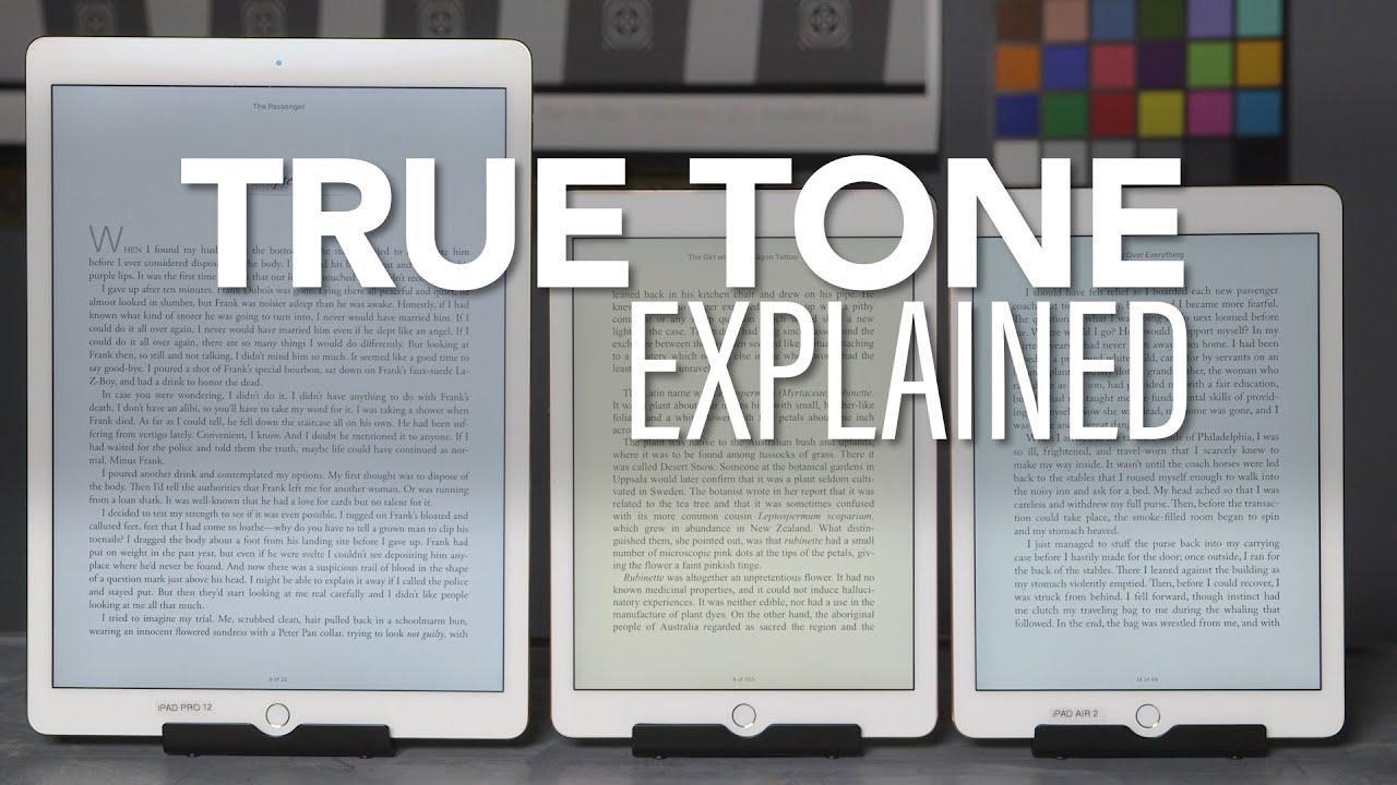 Apple Ipad True Tone Display Explained Consumer Reports Youtube
