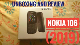 Nokia 106 dual sim basic phone 2019 | Unboxing and review of the cheapest Nokia phone in India