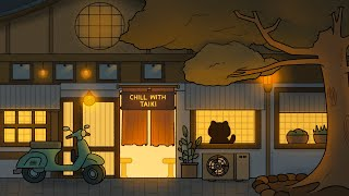 japanese night cafe vibes / a lofi hip hop mix ~ chill with taiki