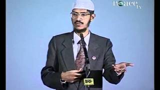 Are Humans Made by Dust or Sperm,Answer with Help of Holy Quran  & Modern Science - By  Zakir Naik