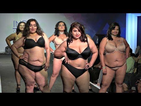 Plus Size Model Ramp Walk For Parafait  Fashion Show. http://bit.ly/2Xc4EMY