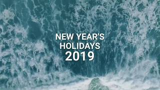 New year's holidays in Mexico! #MexicoGIS2019