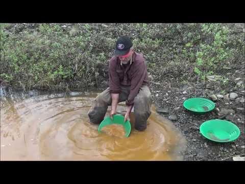Prospecting Alaska: Testing Gold Bearing Material
