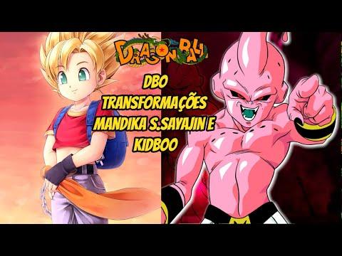 DBO Transformações Mandika SSJ e KidBoo
