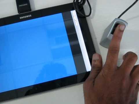 Nitgen fingerprint scanner