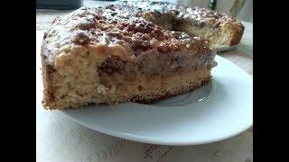 Ореховый пирог это чудо рецепт никого не оставит равнодушным