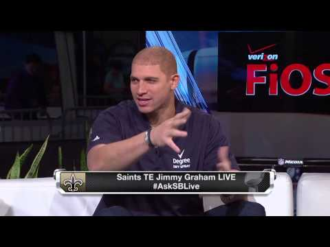 Jimmy Graham talks about flying planes