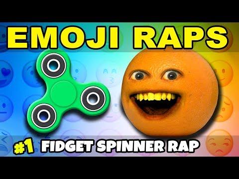 Annoying Orange - EMOJI RAPS #1: Fidget Spinners