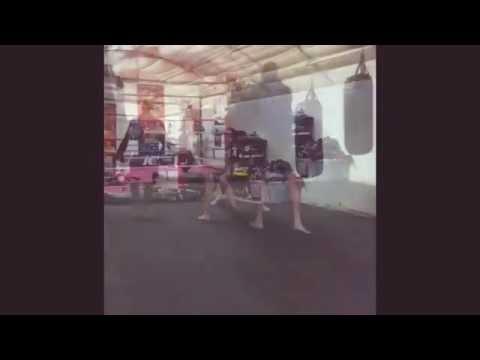 Scott O'Connor Double K Gym Padwork