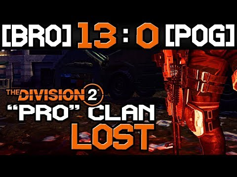 MY LMG BUILD vs TOP CLAN ( BRO vs POG ) - Division 2