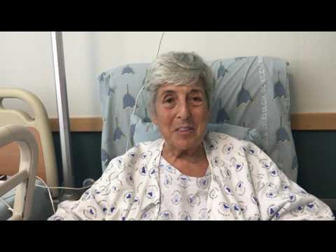 Marcy talks after her injury in south Hebron hills MOV