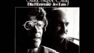 Ella Fitzgerald & Joe Pass Take Love Easy (Full album)