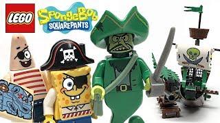 LEGO Spongebob Squarepants The Flying Dutchman review! 2012 set 3817!