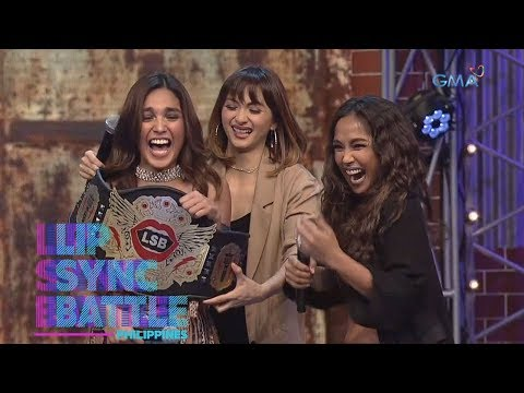 Andrea Torres's Winner Moment | Lip Sync Battle Philippines
