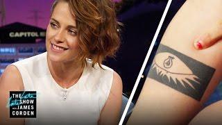Kristen Stewart Took the Tattoo Plunge