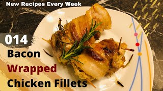 Bacon Wrapped Chicken Fillet Recipe | Divinely Cooked
