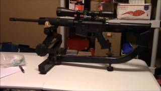 My SOTA Arms 5 56  AR 15 Rifle With a 3 5 X 10 Burris Scope