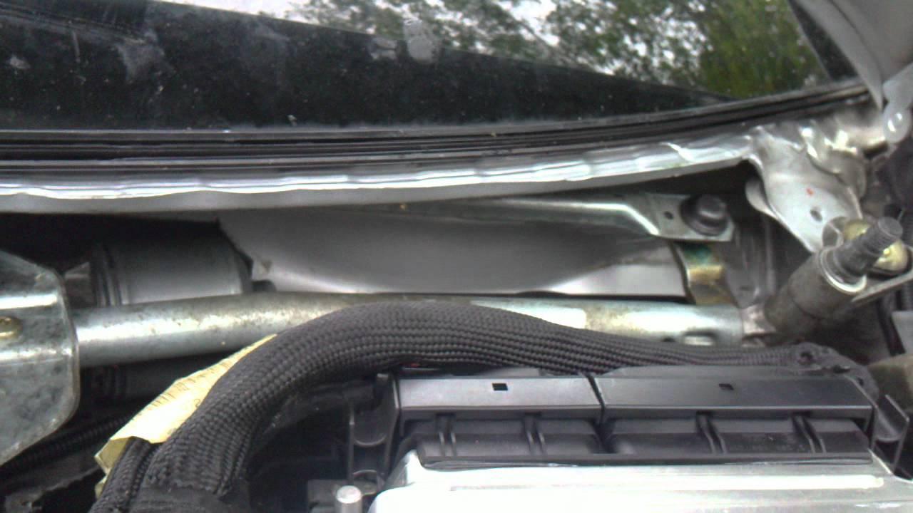 Mechanizm Wycieraczek Prz 243 D Audi A4 Youtube