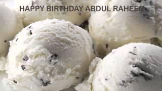 AbdulRaheem   Ice Cream & Helados y Nieves - Happy Birthday