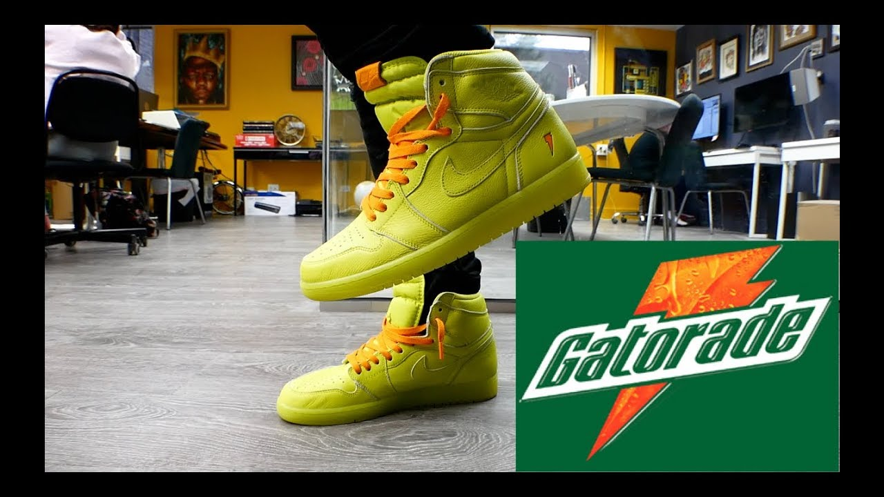 good quality discount shop great deals Jordan 1 Gatorade Lemon Lime Review & On Feet!