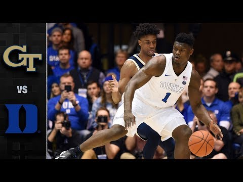 Georgia Tech vs. Duke Basketball Highlights (2018-19)