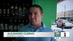 Migrante cubano decide quedarse a trabajar en Mxico   Noticias con Francisco Zea