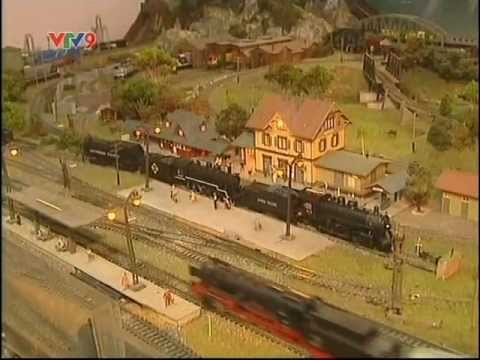 Bộ sưu tập mô hình xe lửa lớn nhất Việt Nam