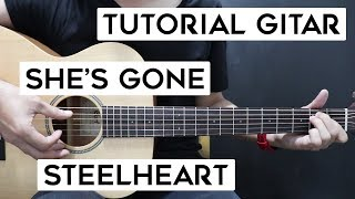 Download Lagu (Tutorial Gitar) STEELHEART - She's Gone | Lengkap Dan Mudah mp3