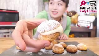 [3/2大食いライブ] シュークリーム大食い!【ロシアン佐藤】【RussianSato】