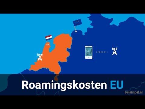 Geen roamingkosten in de EU