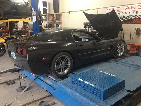 2002 Corvette C5 Dyno Tuning After Cam Swap Youtube