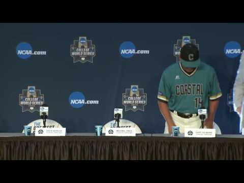 CWS - Finals Game 1 Press Conference (Coastal Carolina & Arizona)