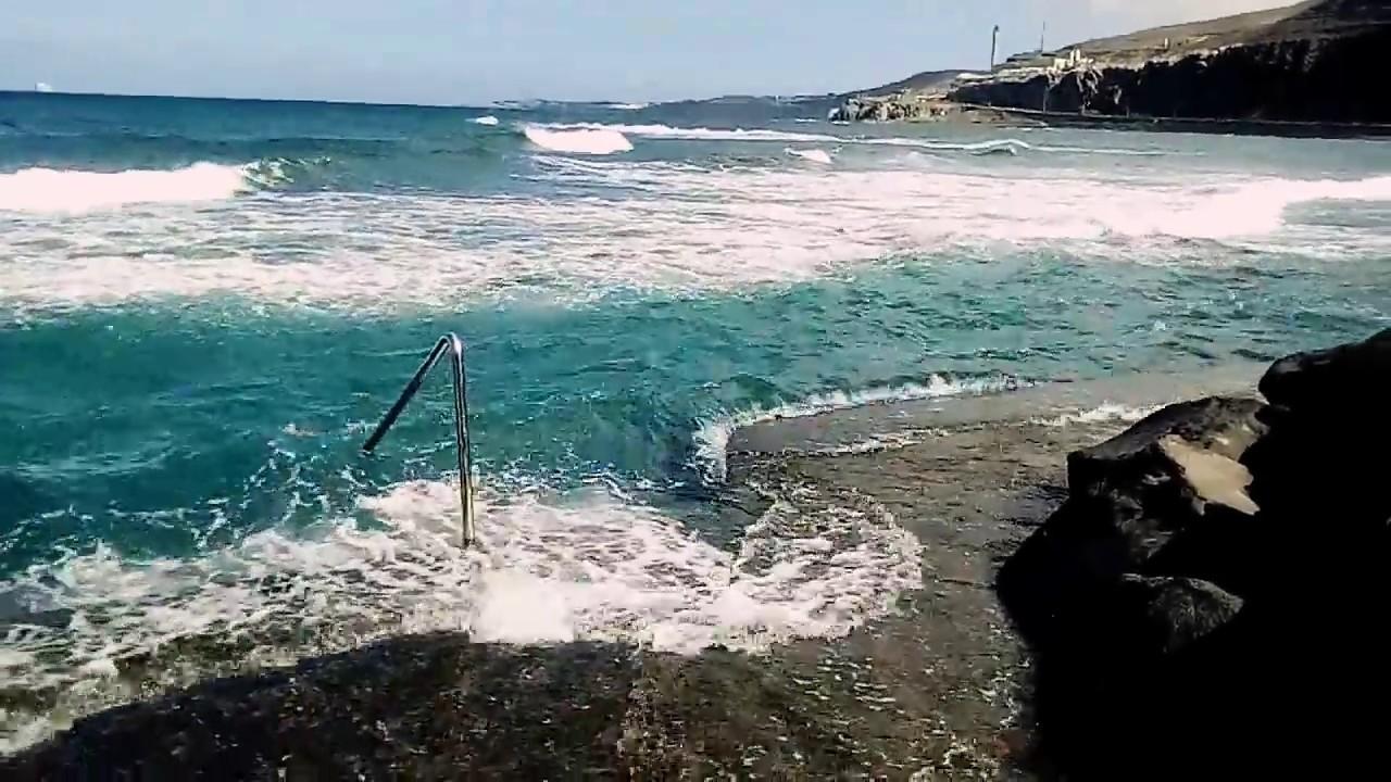 Piscinas playa de la laja a marea alta las palmas de gran canaria youtube - Piscina las palmas de gran canaria ...