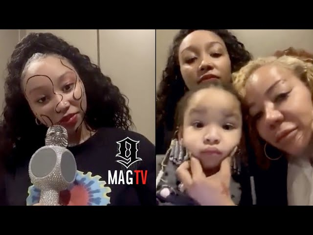 Zonnique Wants Mom Tiny To Perform On The Masked Singer! 🎭