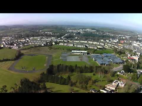 Aerial footage of St. Macartan