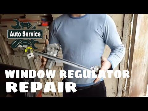 Window Regulator Repair & Replacement