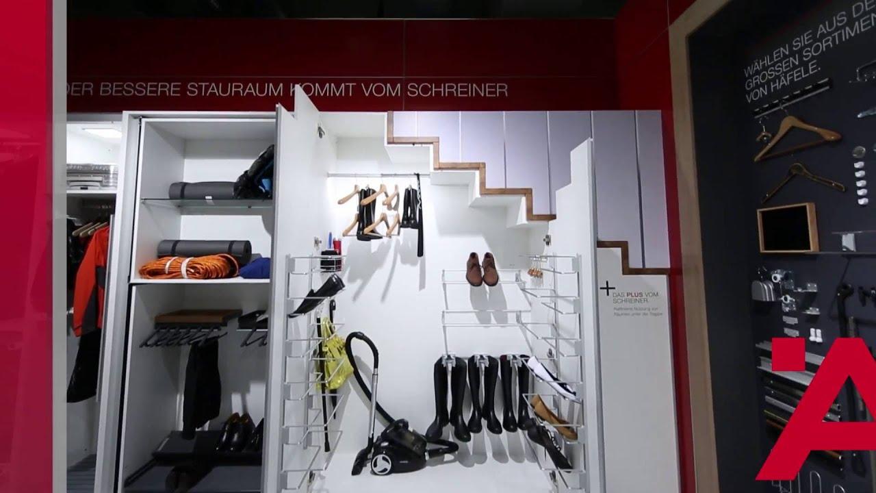 Stauraumideen Fur Ihren Schrank Unter Der Treppe