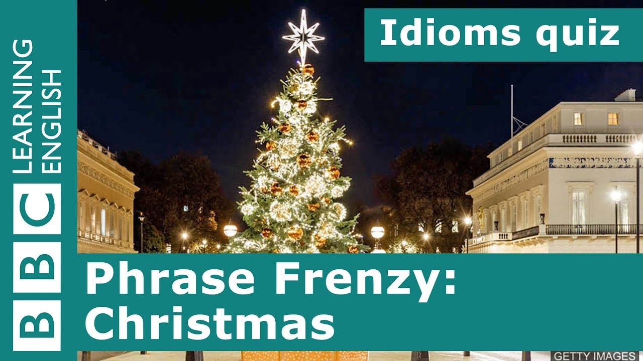 a picture quiz about idioms christmas - Christmas Idioms