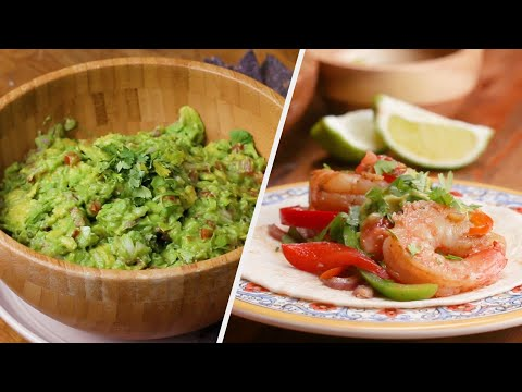 Four Recipes To Host The Best Taco Night Ever •Tasty