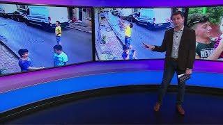 فيديو| شاب جزائري ينقذ طفلة سورية سقطت من نافذة في اسطنبول