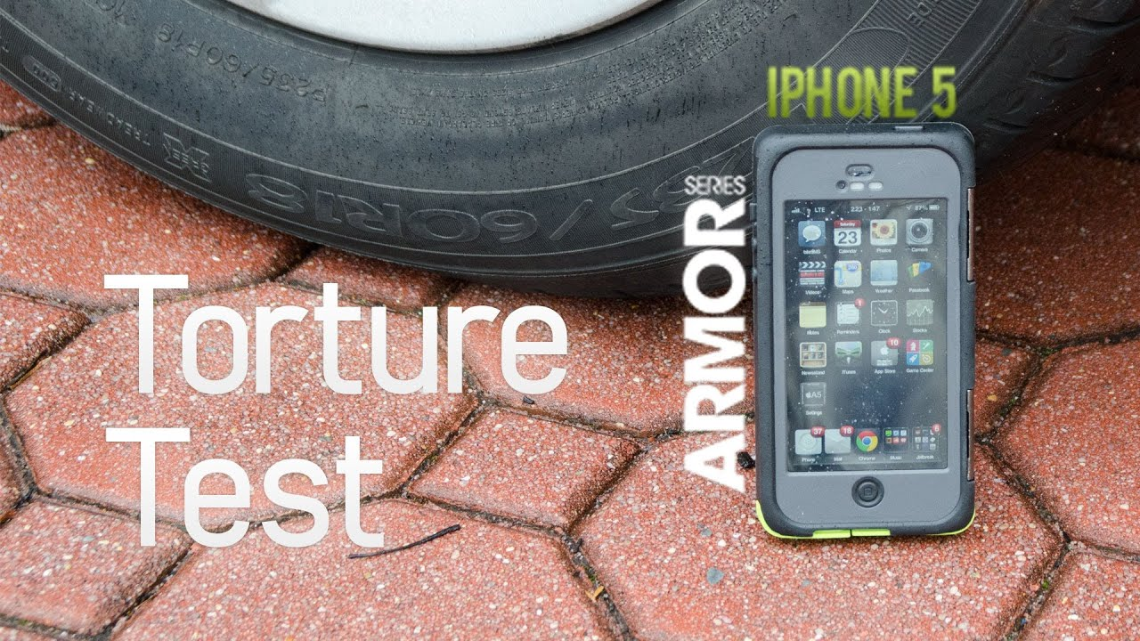 newest 336fb e5879 Otterbox Armor Series Torture Test (iPhone 5)